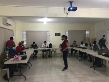Organizaciones de base  sociedad civil Línea Noroeste agradecen apoyo Centro Montalvo