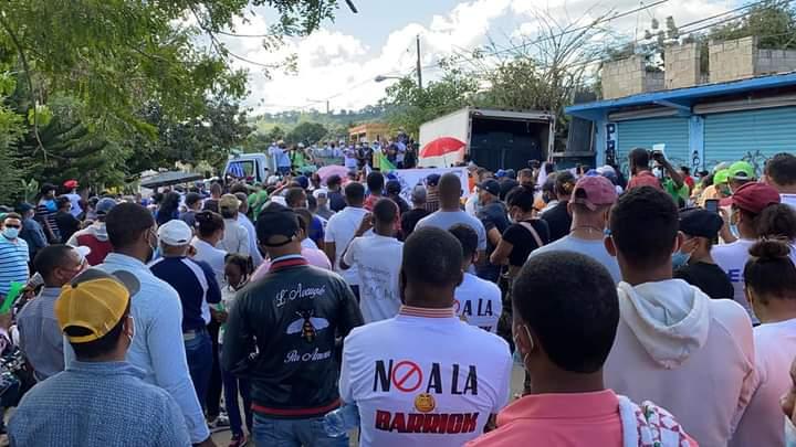 Marcha contra expansión de Barrick Gold