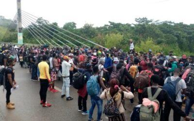 Jesuitas se solidarizan con migrantes en la frontera de Brasil y Perú