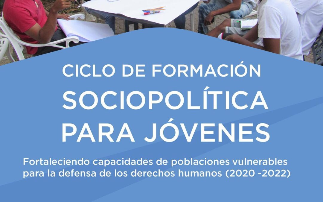 Convocatoria Ciclo de formación socio política juvenil