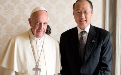 """Papa Francisco exige al Banco Mundial y al Fondo Monetario Internacional """"un plan global"""""""