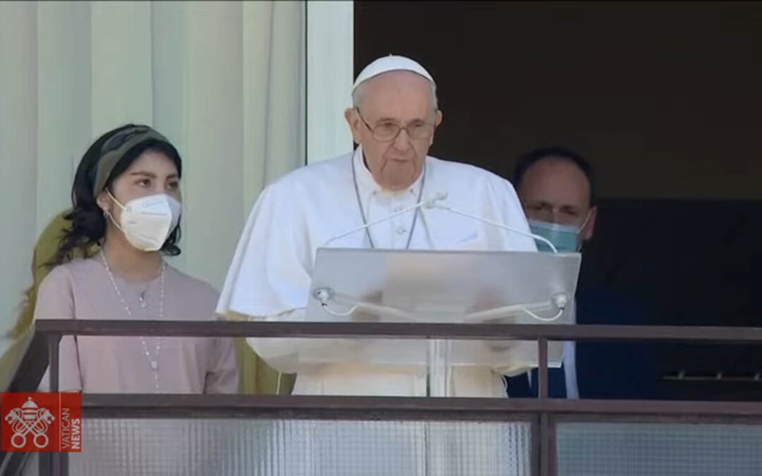 El Papa hace un fuerte llamamiento a favor de Haití