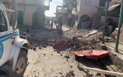 La reconstrucción de Haití es una lucha a largo plazo: la gente necesita levantarse